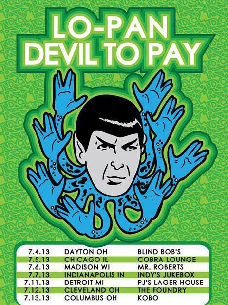 Lo Pan / Devil To Pay - Tour 2013