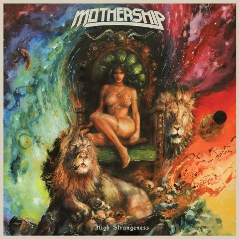 Image result for album art Mothership: High Strangeness
